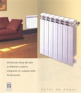 La Calefacción de gas, calefacción hidrónica