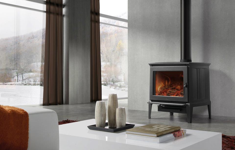 Estufas a le a de hierro fundido alta calidad hergom - Estufas de lena para calefaccion ...