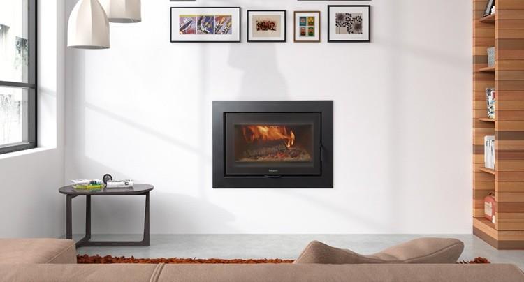 Chimenea de le a sere 70cm tienda hergom chimeneas y - Adaptar chimenea para calefaccion ...